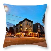 3rd And Christian Throw Pillow