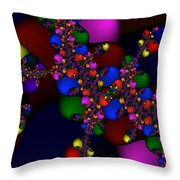3x1 Abstract 908 Throw Pillow