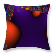 3x1 Abstract 910 Throw Pillow