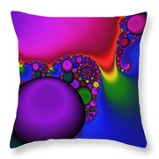 3x1 Abstract 914 Throw Pillow