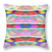 3x1 Abstract 916 Throw Pillow