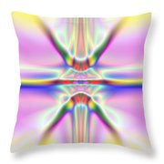 3x1 Abstract 917 Throw Pillow