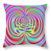 3x1 Abstract 919 Throw Pillow