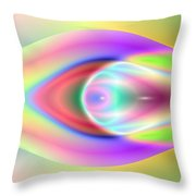 3x1 Abstract 921 Throw Pillow