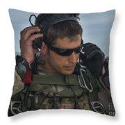 A U.s. Air Force Combat Controller Throw Pillow