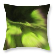 Abstract Aurora Throw Pillow