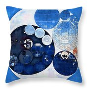 Abstract Painting - Midnight Express Throw Pillow