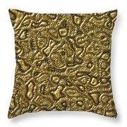 Alien Skin Throw Pillow