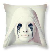 American Horror Story Asylum 2012 Throw Pillow
