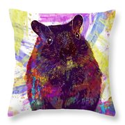 Animal Attractive Beautiful Brown  Throw Pillow