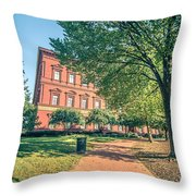 Architecture And Buildings On Streets Of Washington Dc Throw Pillow