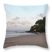 Australia - Greenmount Surf Club On Patrol Throw Pillow