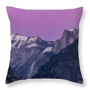 Beauty Of Yosemite Throw Pillow