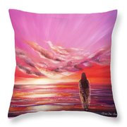 Beyond The Sunset  Throw Pillow