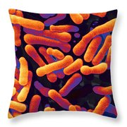 Bifidobacterium Animalis Throw Pillow