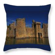 Bodium Castle Sussex Throw Pillow
