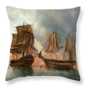 Bonhomme Richard, 1779 Throw Pillow