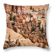 Bryce Canyon - Utah Throw Pillow