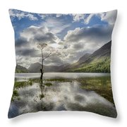 Buttermere Tree Throw Pillow