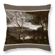 Camille Corot Throw Pillow