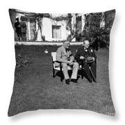 Casablanca Conference Throw Pillow