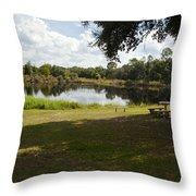 Cassadaga Spiritualist Camp In Florida Throw Pillow