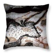 Cave Art: Lascaux Throw Pillow