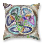 Celtic Layers Throw Pillow