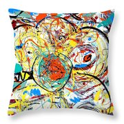 Challenge 2017- Diabetes Find A Cure Throw Pillow