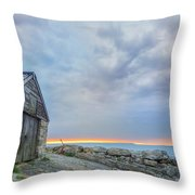 Chapman's Pool - England Throw Pillow
