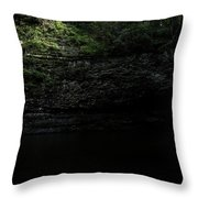 Cherokee Falls Throw Pillow