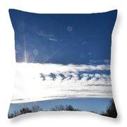 Clouds Throw Pillow