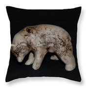 4 Corners Bear Throw Pillow