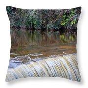 Cramond Waterfall Throw Pillow