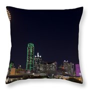 Dallas - Texas Throw Pillow