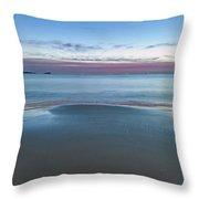 Daybreak Seascape Throw Pillow