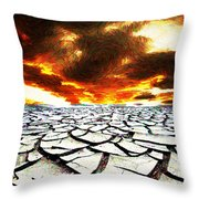 Desert Throw Pillow