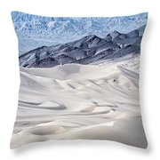 Dumont Dunes 4 Throw Pillow by Jim Thompson