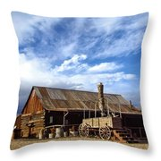 4 Eagle Ranch Throw Pillow