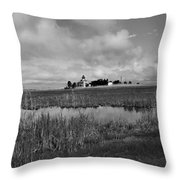 East Point Lighthouse Nj Throw Pillow