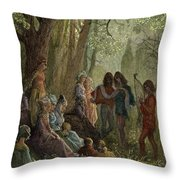 Eleanor Of Aquitaine Throw Pillow