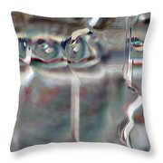 4 Eyes Throw Pillow