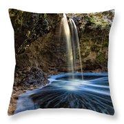 Falling Creek Falls Throw Pillow