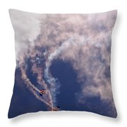 Falling Down Throw Pillow