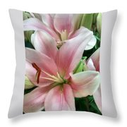 Flower Collection Throw Pillow