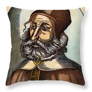 Galen, 129-c200 A.d. Throw Pillow