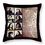 Game Of Thrones. House Stark. Throw Pillow