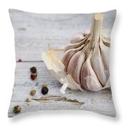 Garlic Throw Pillow