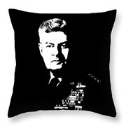 General Curtis Lemay Throw Pillow