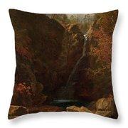 Glen Ellis Falls Throw Pillow